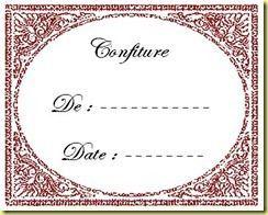Etiquette confiture 5
