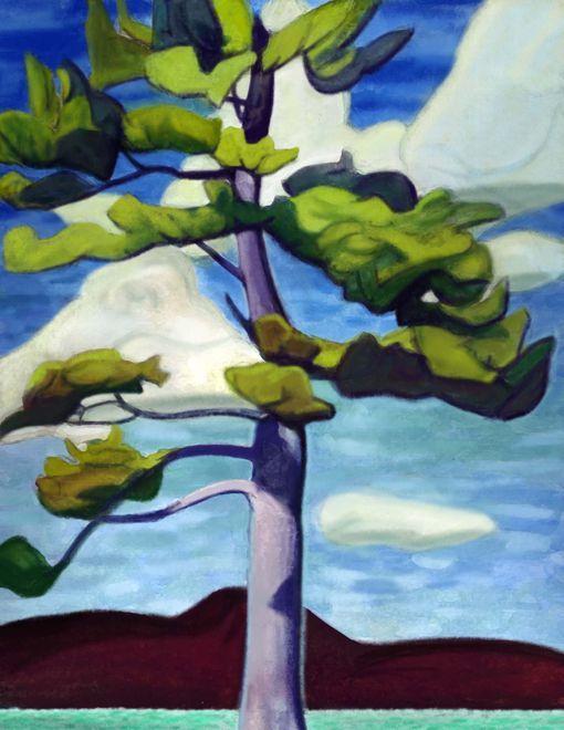 Pine - Lawren Harris - Pictify - your social art network