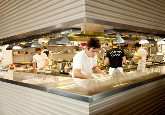 Restaurant Open Kitchen Concept implement an open kitchen concept to better facilitate the