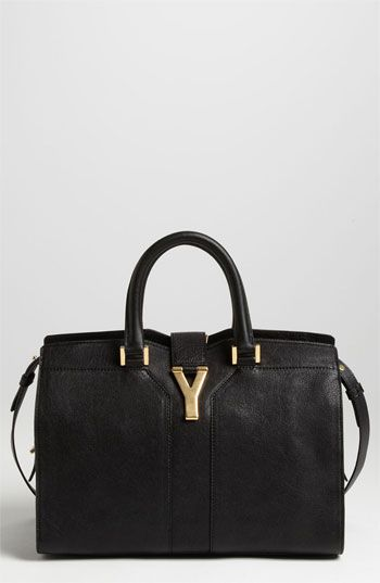 bag with y logo - We love this timeless satchel from Saint Laurent Paris #Nordstrom ...