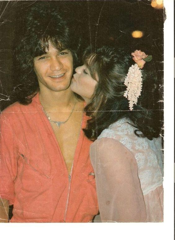 Aw back in the day with eddie van halen valerie for How long were eddie van halen and valerie bertinelli married