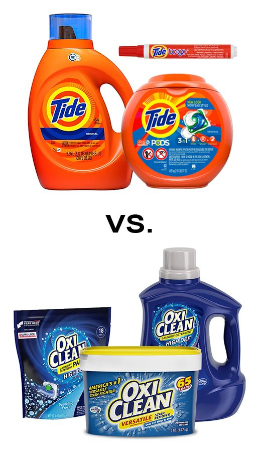 Oxiclean Vs Tide Which Detergent And Stain Remover Is The Best