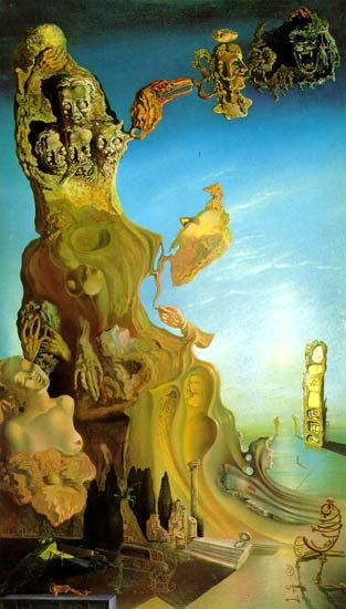 Imperial Monument to the Child-Woman, 1929 - Salvador Dalí