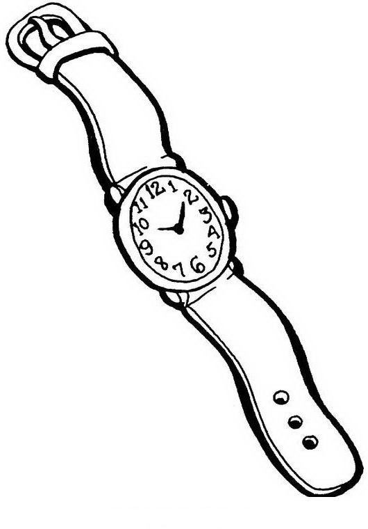 Uhr Malvorlagen F Kinder   Amorphi