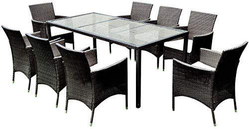 New Tangkula 9pcs Patio Wicker Furniture Set Outdoor Garden Modern