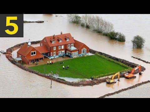 Top Flood Proof Barriers Flood Barrier Flood Protection Flooded House