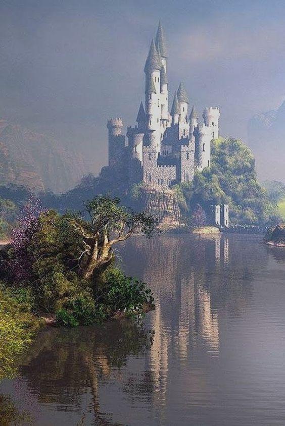 LOCK PRINCESS Fantasy castle Beautiful castles Fairytale castle