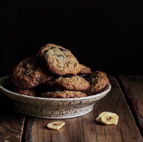 Chocolate Banana Chip Cookies - Home - Pastry Affair