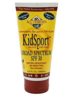 Best: All Terrain KidSport Sunscreen Lotion, SPF 30