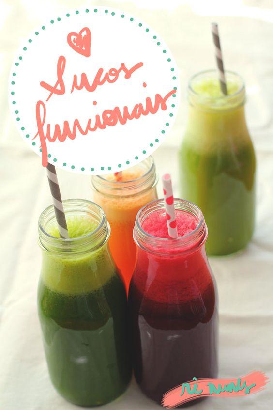 sucos funcionais receita, receita de suco funcional, detox, suco: