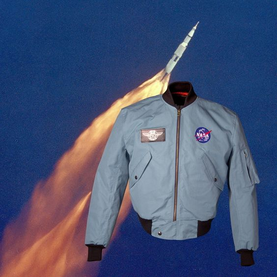 nasa apollo flight jacket - photo #38