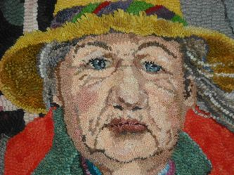 hooked rug Woolwrights Rug Hooking Guild. http://www.woolwrights.com/index.html