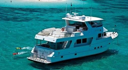 Aroona takes you there! Great boat great crew great destinations! Tailored for YOUR ultimate adventure!  come join the crew and I'm the hostie . #aroonLuxuryboatcharters #aroona #luxury #boat #charters #ultimate #adventure #cruising #relaxing #exploring #snorkelling #diving #freediving #fishing #spearfishing #kitesurfing #islandhopping #yoga #healthy #food #60daystoasexysoul #thisaustralia #thisismyparadise #cairns #greatbarrierreef by arbonne_with_hannah http://ift.tt/1UokkV2