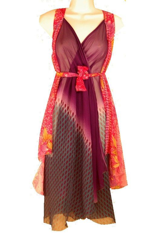 """#WrapDress I live in these multi wrap skirts in the Spring and summer. Wrap Dress Magic Skirt 36"""" Length Maternity Reversible Pareo Beach Long Maxi"""