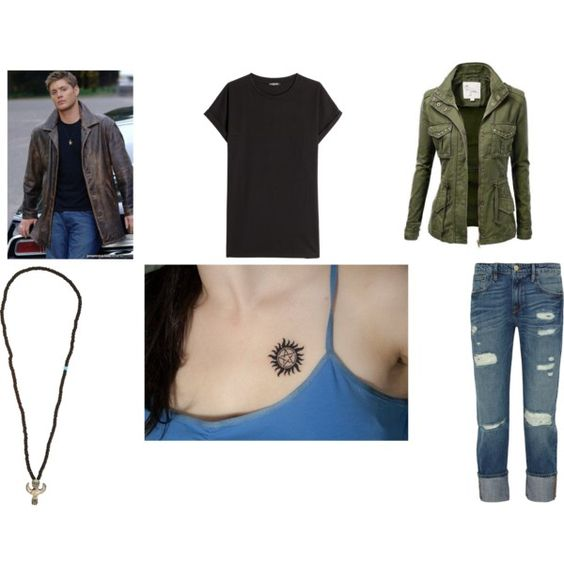 Dean Winchester by mey-rin on Polyvore