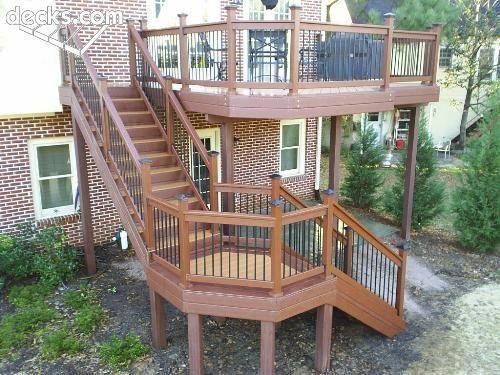I Want This Stunning Patio Deck Patiodeck Deck Design Patio Deck Designs Decks Backyard