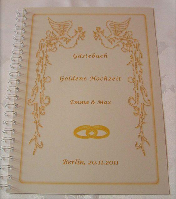 Gastebuch Goldene Hochzeit Lovely Gastebuch Fotoalbum Goldene Hochzeit Goldhochzeit Geschenk