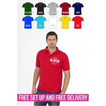 Polo Shirts with one Embroidery bulk buy