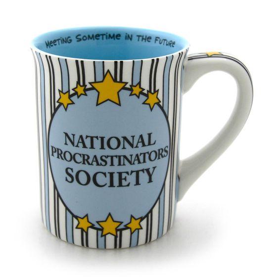 National Procrastinators Society Mug