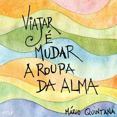 PROSA  -   TRECOS     E     CACARECOS: MÁRIO QUINTANA! reflection: