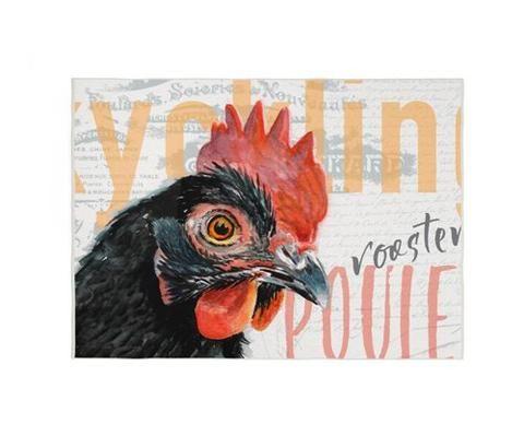 Black Rooster Kitchen Rug By Redstreake Creative Living Rooster Kitchen Black Rooster Chicken Decor