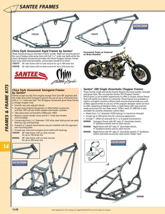 Magnificent Gooseneck Frame Motorcycle Collection - Ideas de Marcos ...