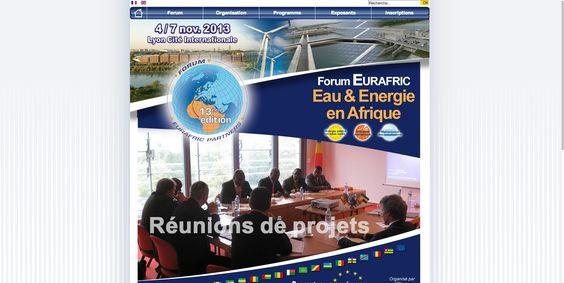 Conception/création du site Internet du Forum Eurafric, forum organisé par Adea France tous les ans à Lyon. http://eurafric.org/fr/