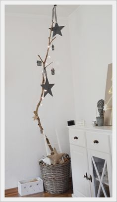 Deko Idee Wohnzimmer / Weihnachten