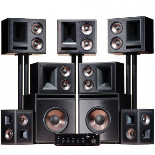 PRODUCT DETAILS : FACTORY AUTHORIZED 5 Year Warranty The award-winning Klipsch THX Ultra2 custom home theater system brings real cinema sound to the comforts of home by using the same [ ]
