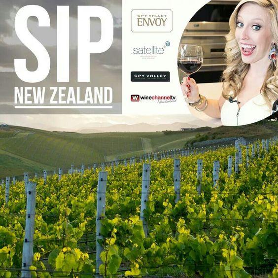 Sip into this weekend with Spy Valley Wines! #sipnz #nzwines #newzealand #wine #winetv #happy