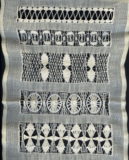 Drawn Thread Work - site in Spanish - Costurero de vainicas de Manoli