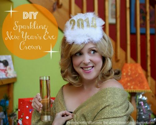 New Year's Eve Crown DIY