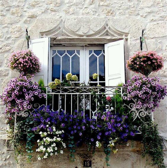 French window: