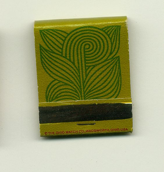 Saul Bass matchbook.