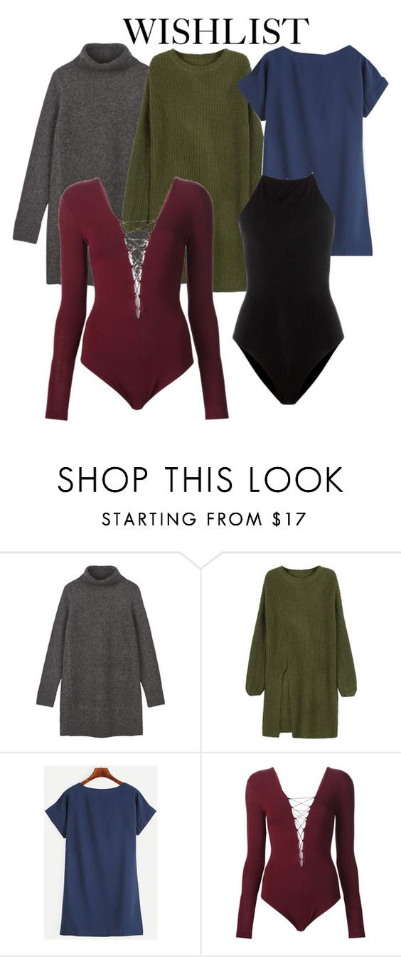 """WISHLIST 3"" by journeylekhuleni on Polyvore featuring WithChic and T By Alexander Wang:"