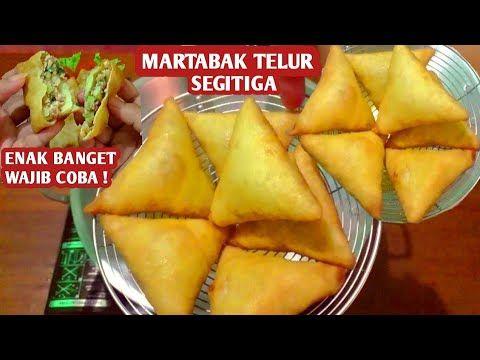 Martabak Telur Mini Segitiga Enak Banget Tidak Berminyak Youtube Resep Masakan Makanan Ringan Manis Resep Makanan