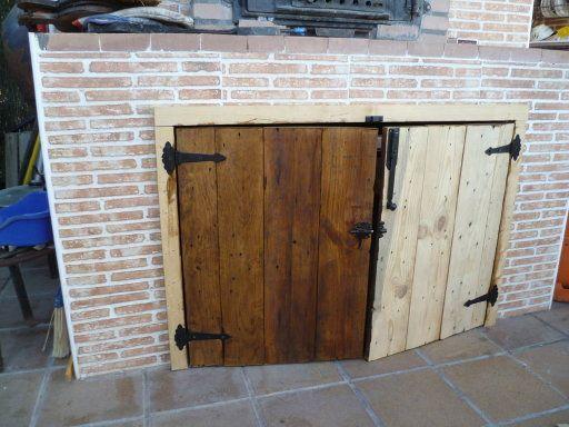 puertas hechas con palet puertas