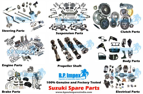 Bp Auto Spares India Is A Very Well Renowned Name In The Auto Spares Industry For Providing A High Quality Range Of Suzuki S Auto Spares Car Spare Parts Suzuki