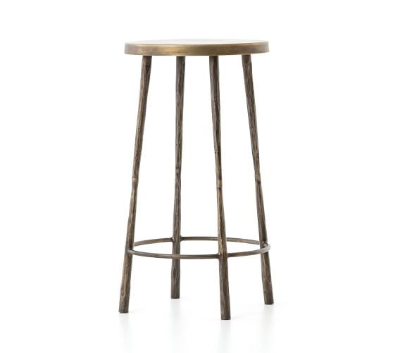 Estrada Bar Counter Stools Pottery Barn In 2020 Counter Stools Bar Stools Stool