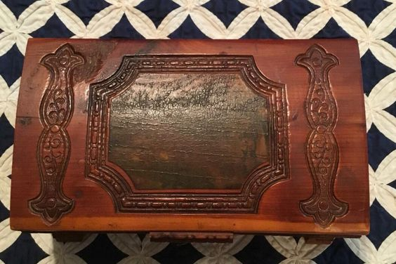 A personal favorite from my Etsy shop https://www.etsy.com/listing/477279943/vintage-very-old-cedar-wood-carved