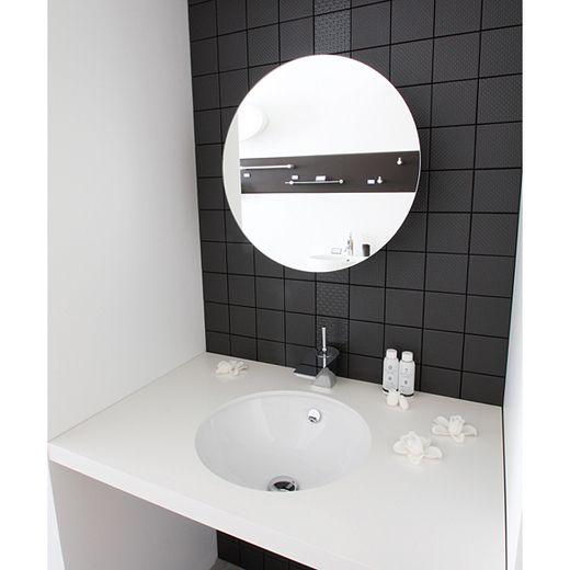 ミラー丸型 Ba05011 洗面スペース 水まわりの通販 サンワカンパニー 洗面所 浴室 壁 洗面鏡