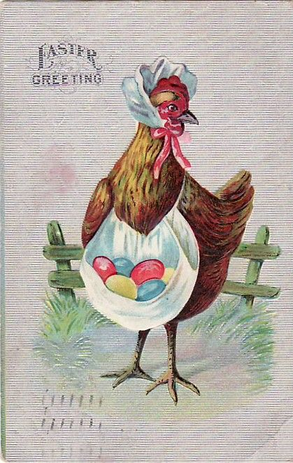 Vintage Easter Greeting: