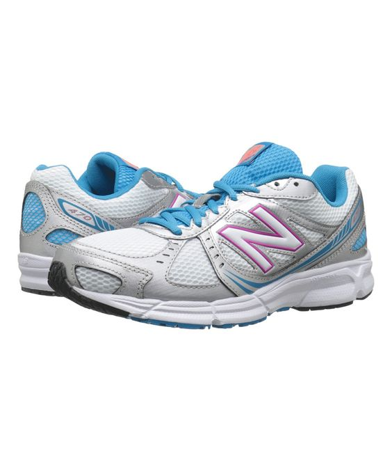 Love this New Balance Silver & Pink 470 Running Shoe by New Balance on #zulily! #zulilyfinds