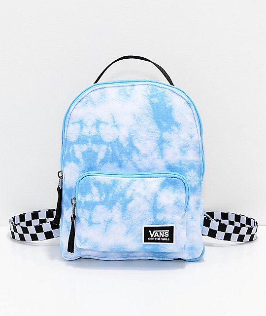 Vans Cloud Blue Bell Mini Backpack in 2019   Cute mini
