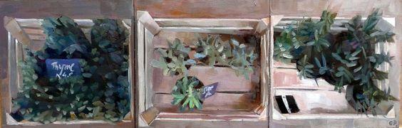 painting / Olha Pryymak