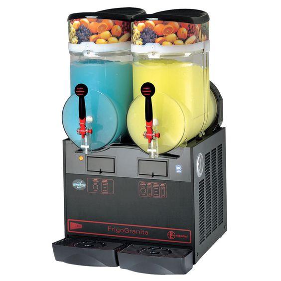 Cecilware FrigoGranita GIANT2BL 4 Gallon Twin Slush Machine - 120V