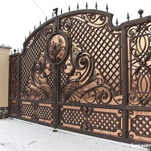 Source Houses Steel Security Sliding Main Gates Hebei