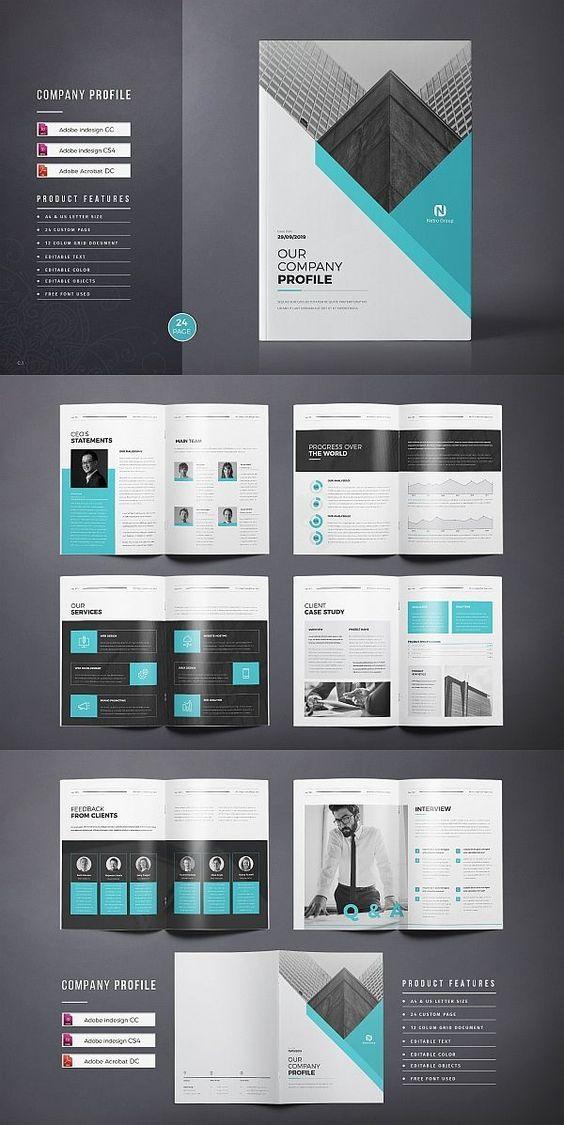 Company Profile Company Profile Design Company Profile Template Brochure Design Template