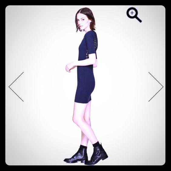 NWT xxs Aritzia black dress NWT black dress Aritzia Dresses