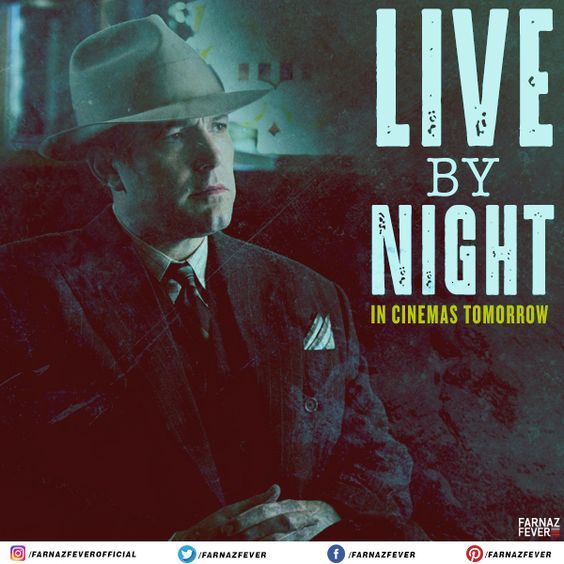 Catch #BenAffleck in a well crafted crime drama this Friday.  #LiveByNight